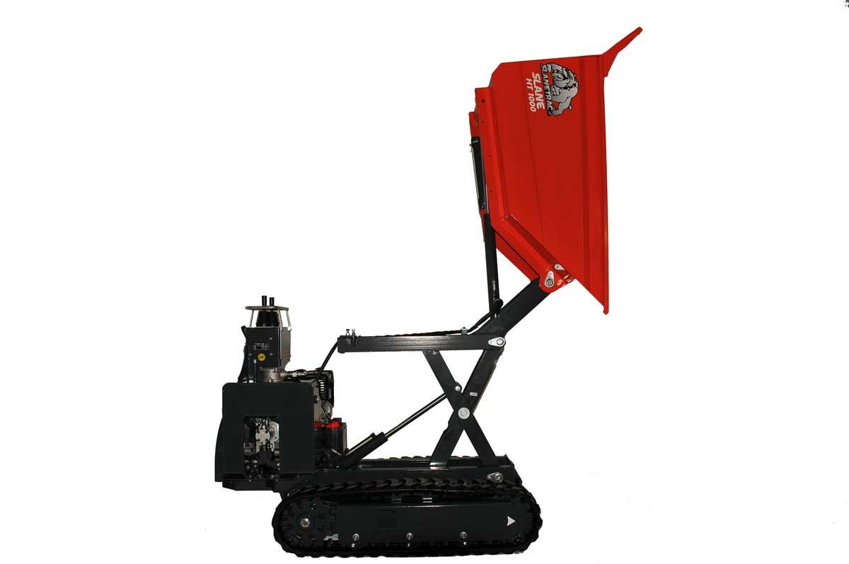 Slanetrac-HT1000-C-Petrol-Mini-Track-Dumper-12